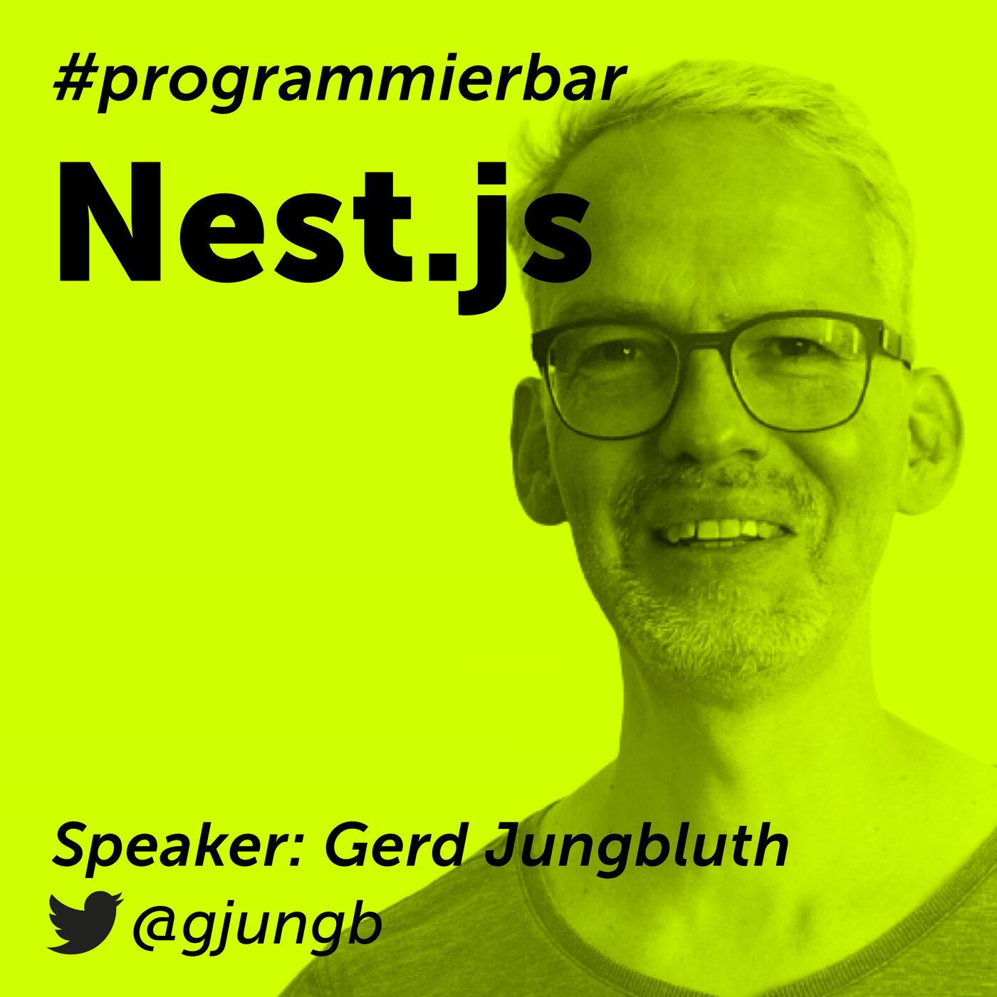 Folge 71 - NestJS mit Gerd Jungbluth