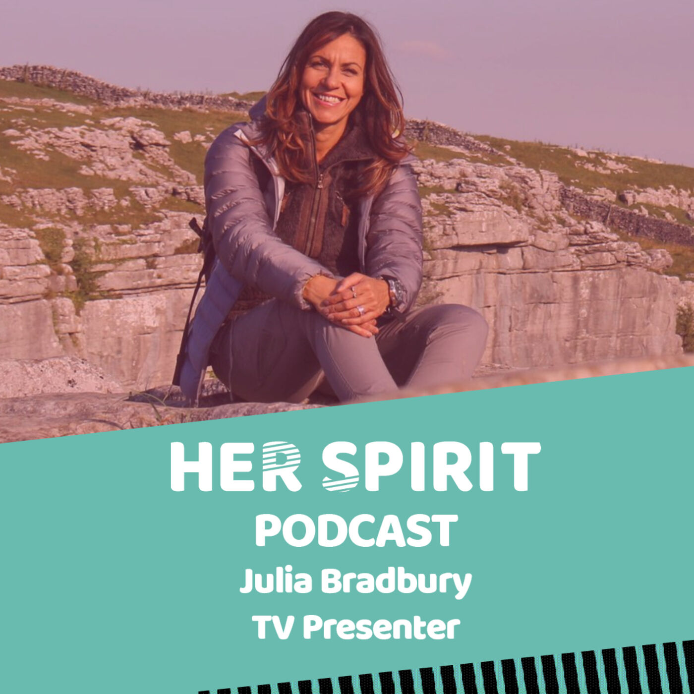 TV presenter Julia Bradbury shares with Louise and Annie talks about her love of the outdoors and walking, and her passion for sustainable tourism, the need to reduce plastic and raising the awareness of plastic pollution.