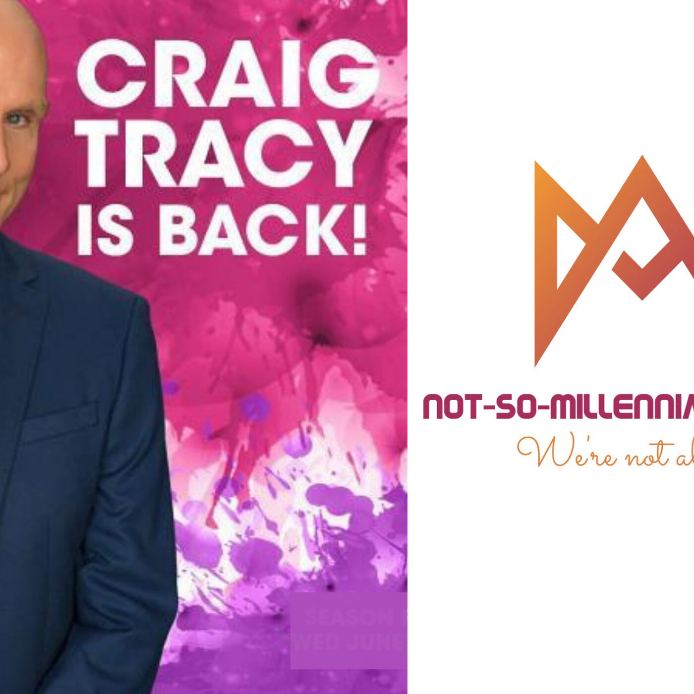 Not-So-Millennial Interviews Skin Wars Producer, Judge, and World-Renowned Body Painting Champion, Craig Tracy - Season 3 Ep.1