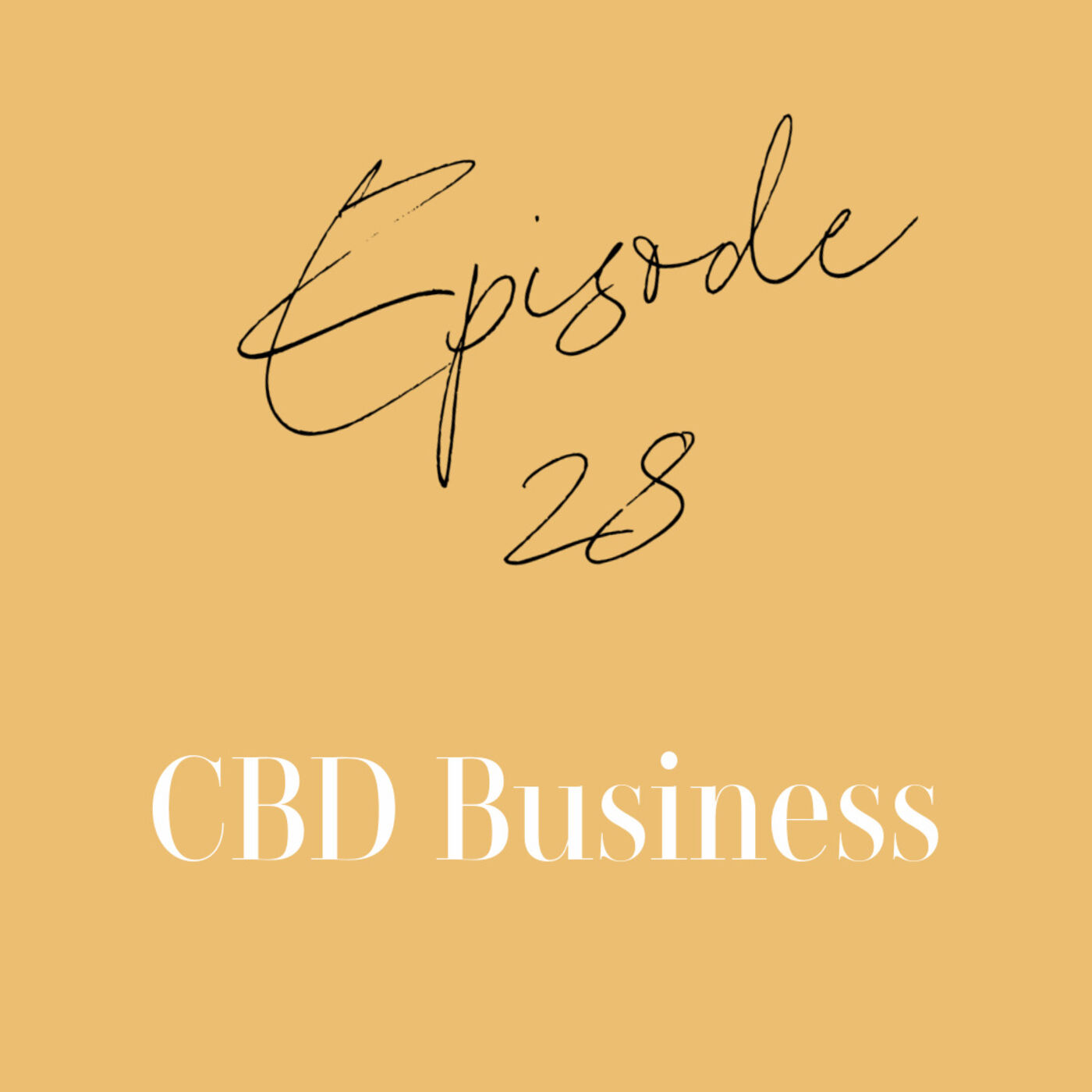 Episode 28: CBD Business
