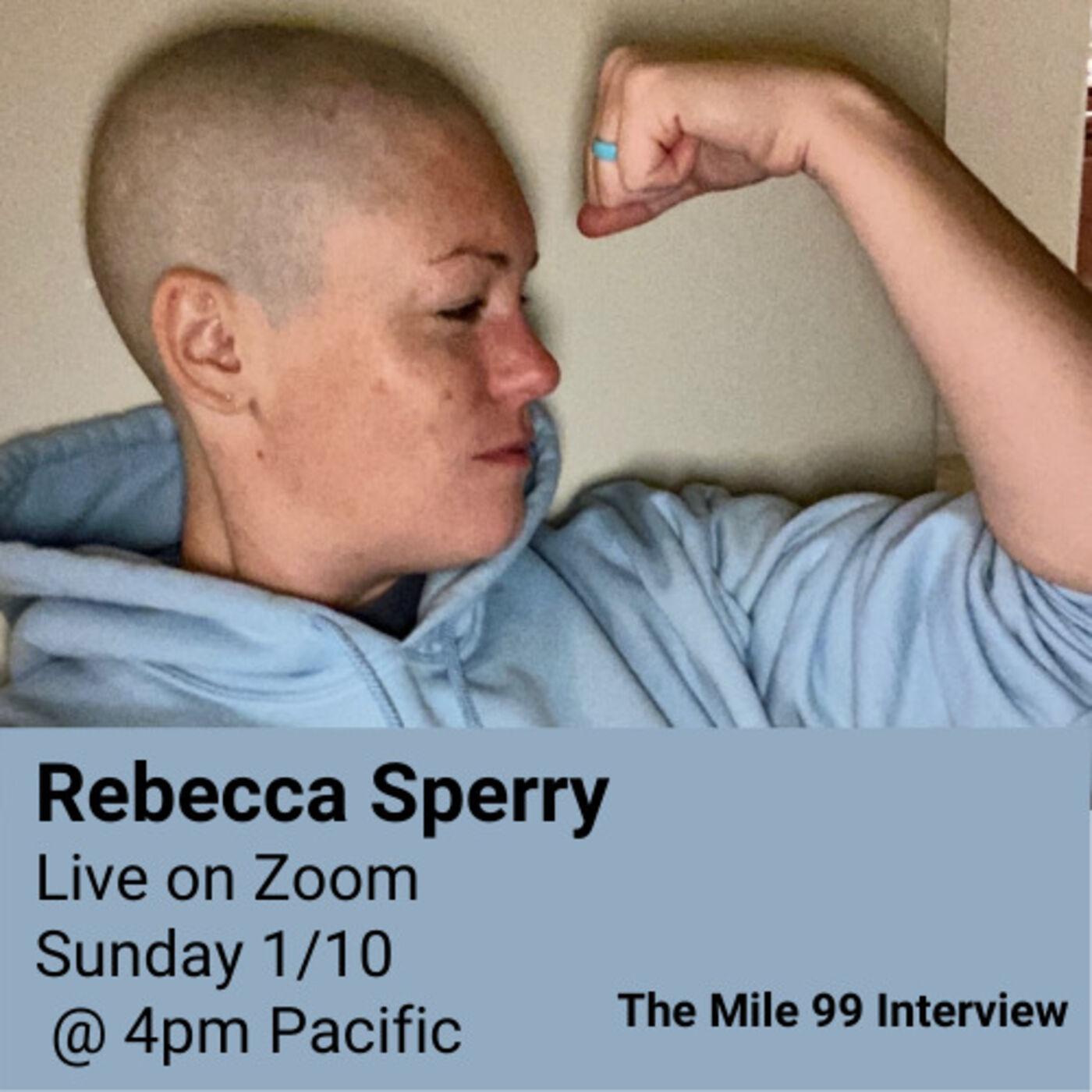 Rebecca Redlines Cancer - Live