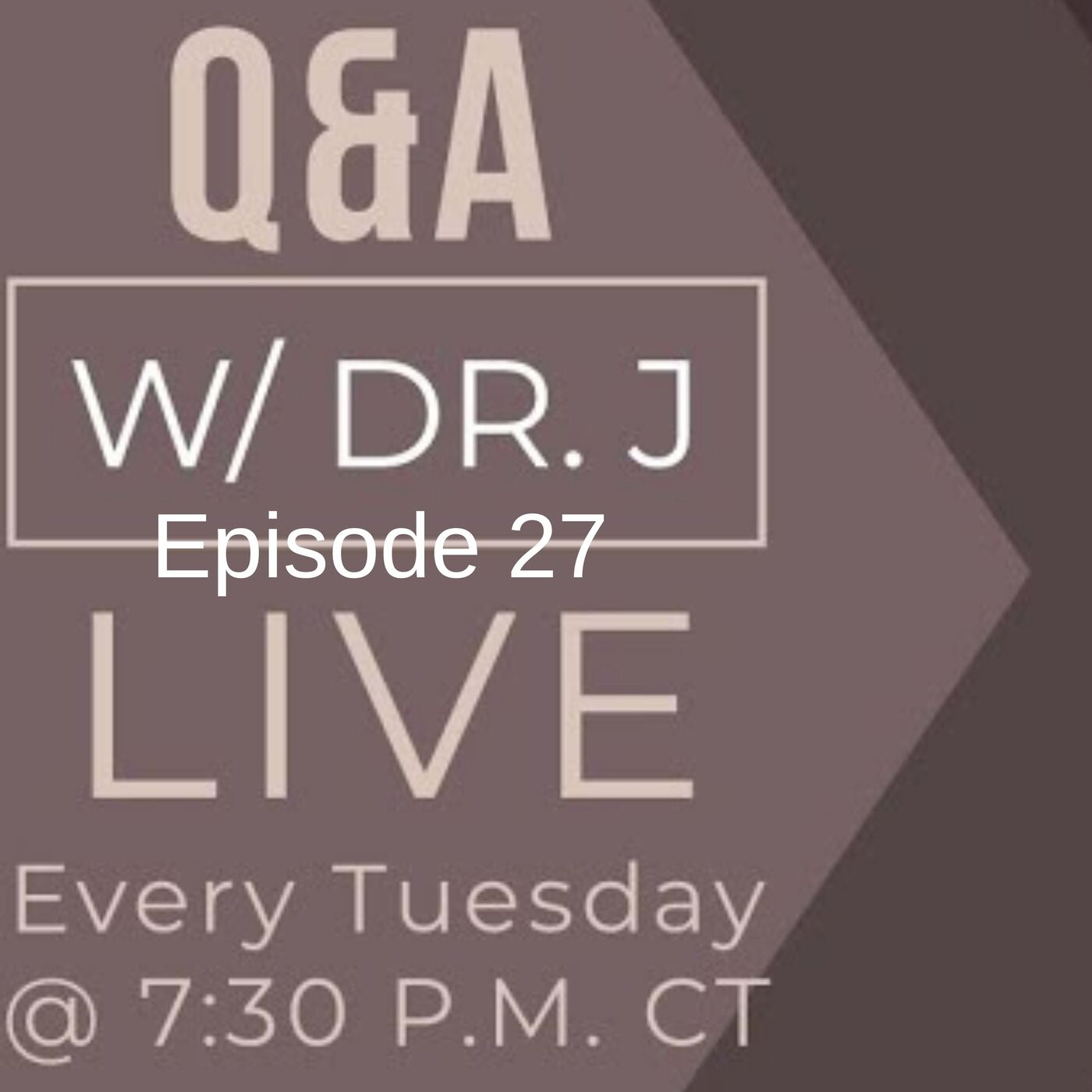 EP 27 Q&A w/ Dr J -  All about Necks and Chins with Top Plastic surgeon Dr Jeneby