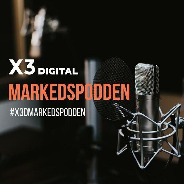 Markedspodden fra X3 Digital Podcast Artwork Image