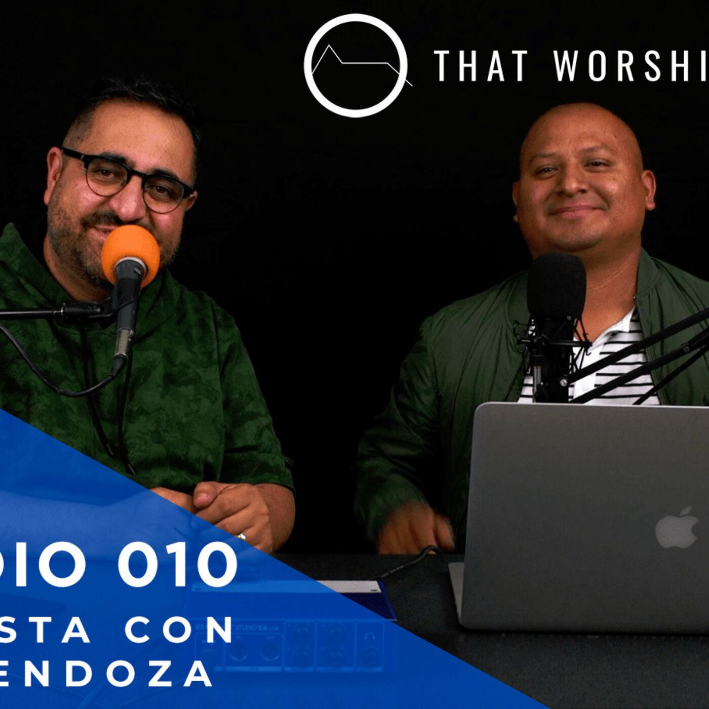 La Cabina Tecnoiglesia Podcast #010 -Entrevista con Abel Mendoza de thatworshipsound.com