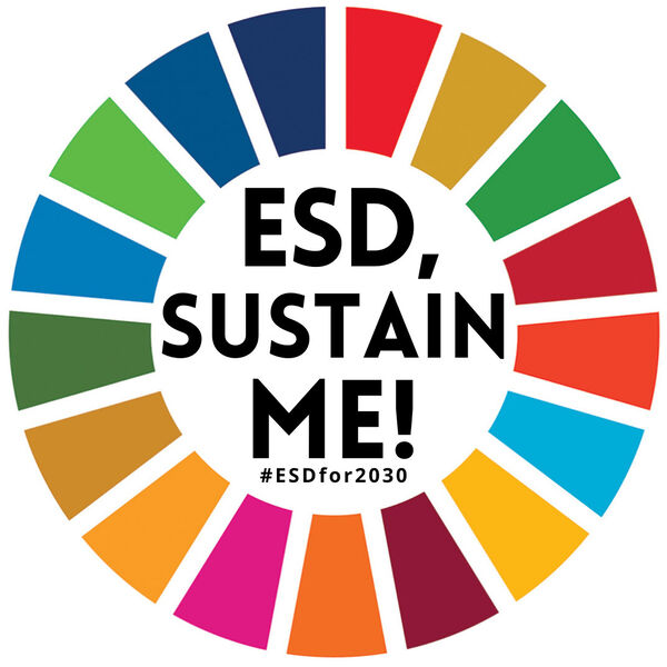 ESD, Sustain Me! Podcast Artwork Image