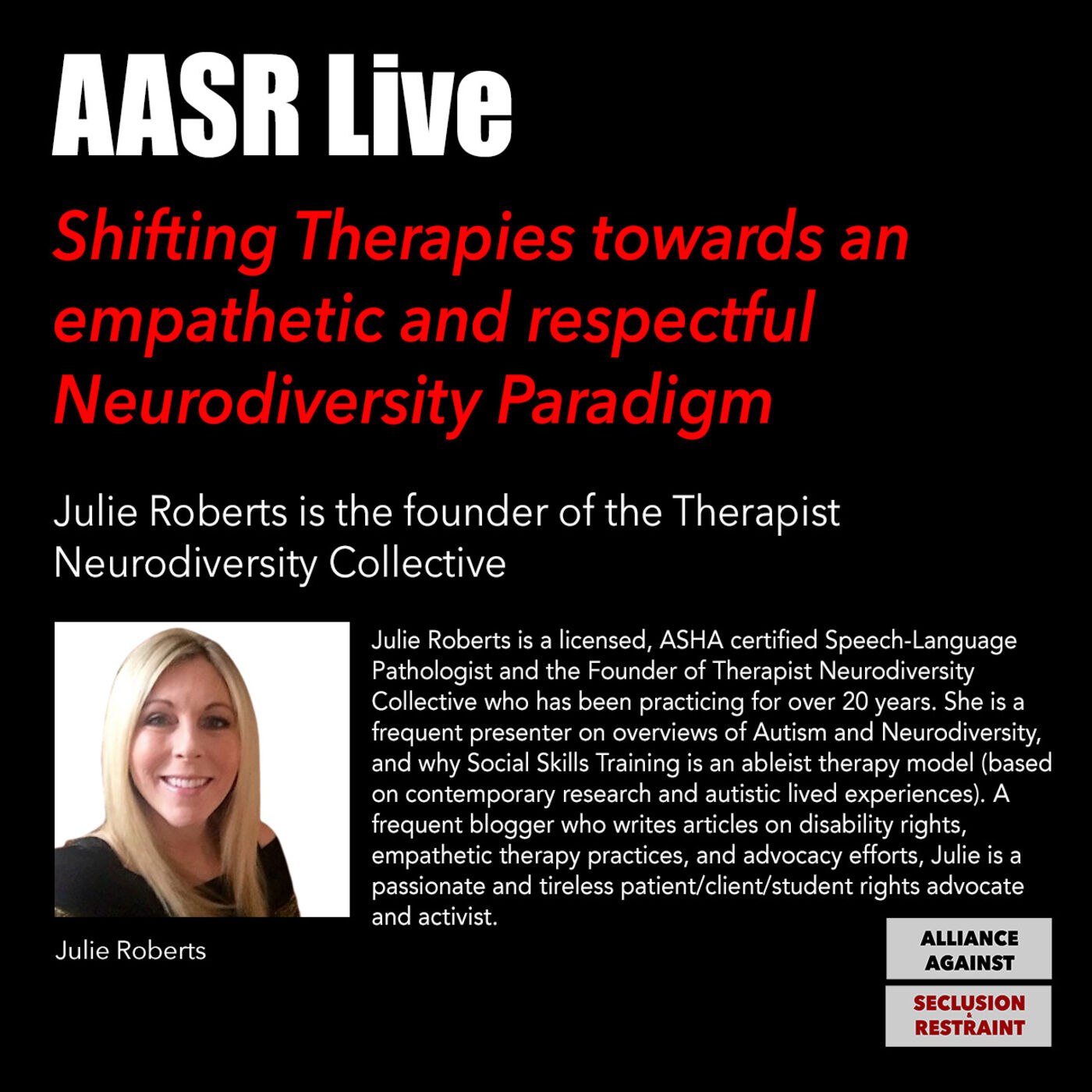 Shifting Therapies towards an empathetic and respectful Neurodiversity Paradigm