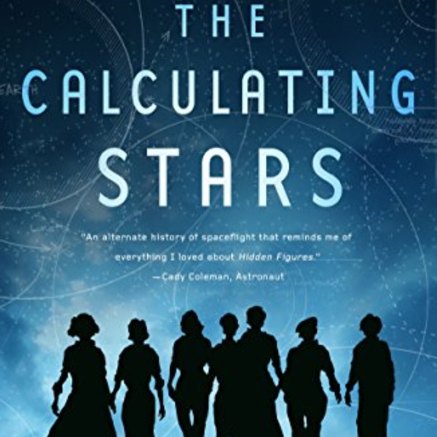 Book-Space! #13. The Calculating Stars by Mary Robinette Kowal