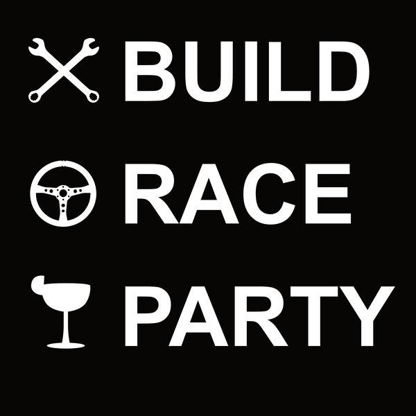 Build Race Party Podcast Artwork Image