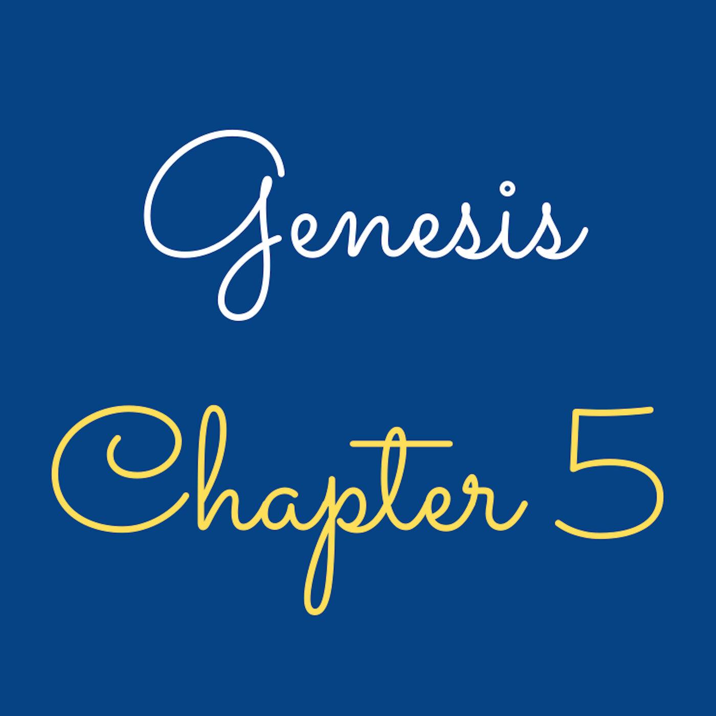 "Genesis 5 ""Adam to Noah"" - #50"