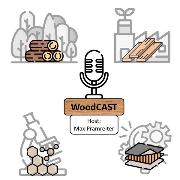 WoodCAST - Es geht um Holz Podcast Artwork Image