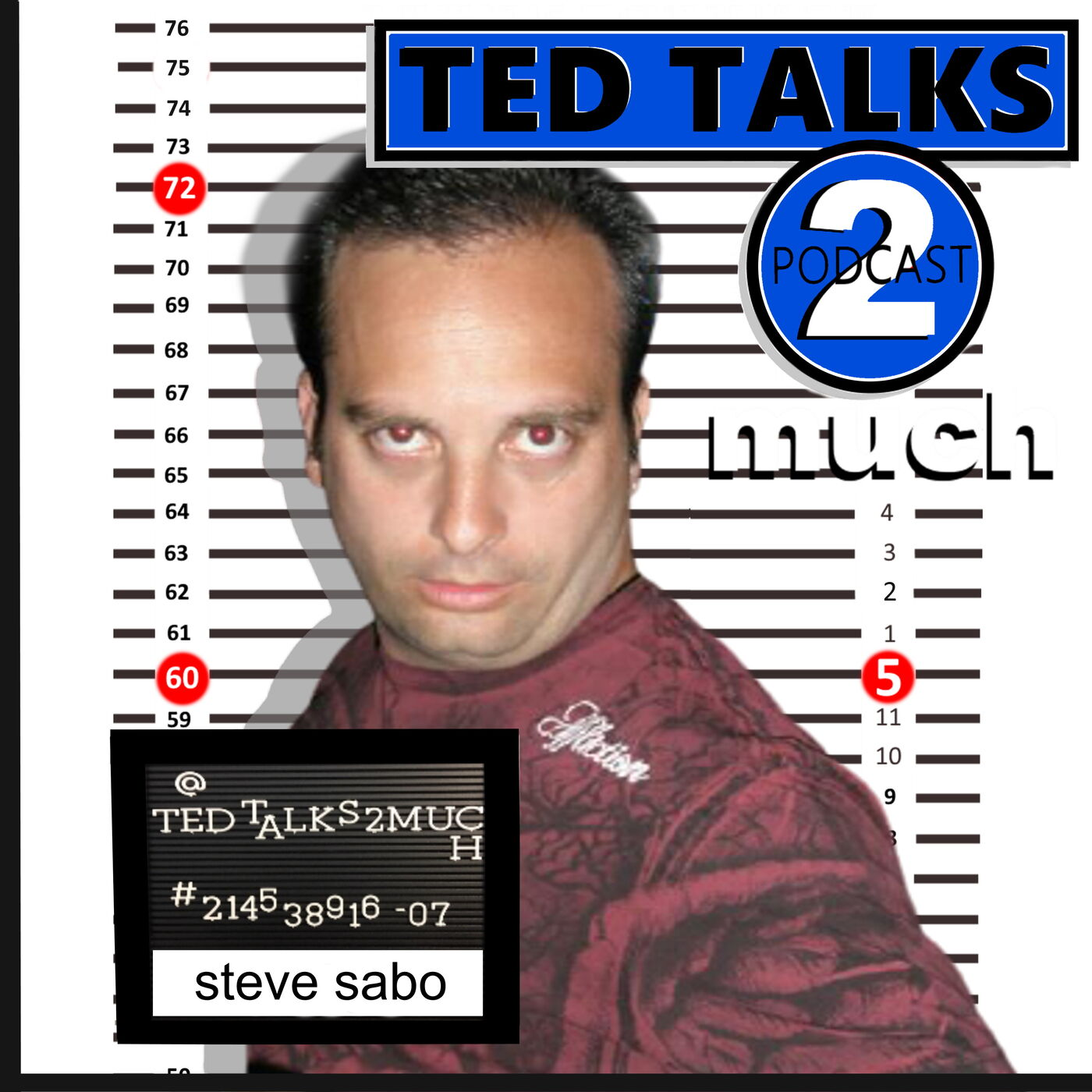 TED TALKS 2 Steve Sabo (too much)... about The Spinning Plates of Comedy, Women Hecklers and Facebook Drama.