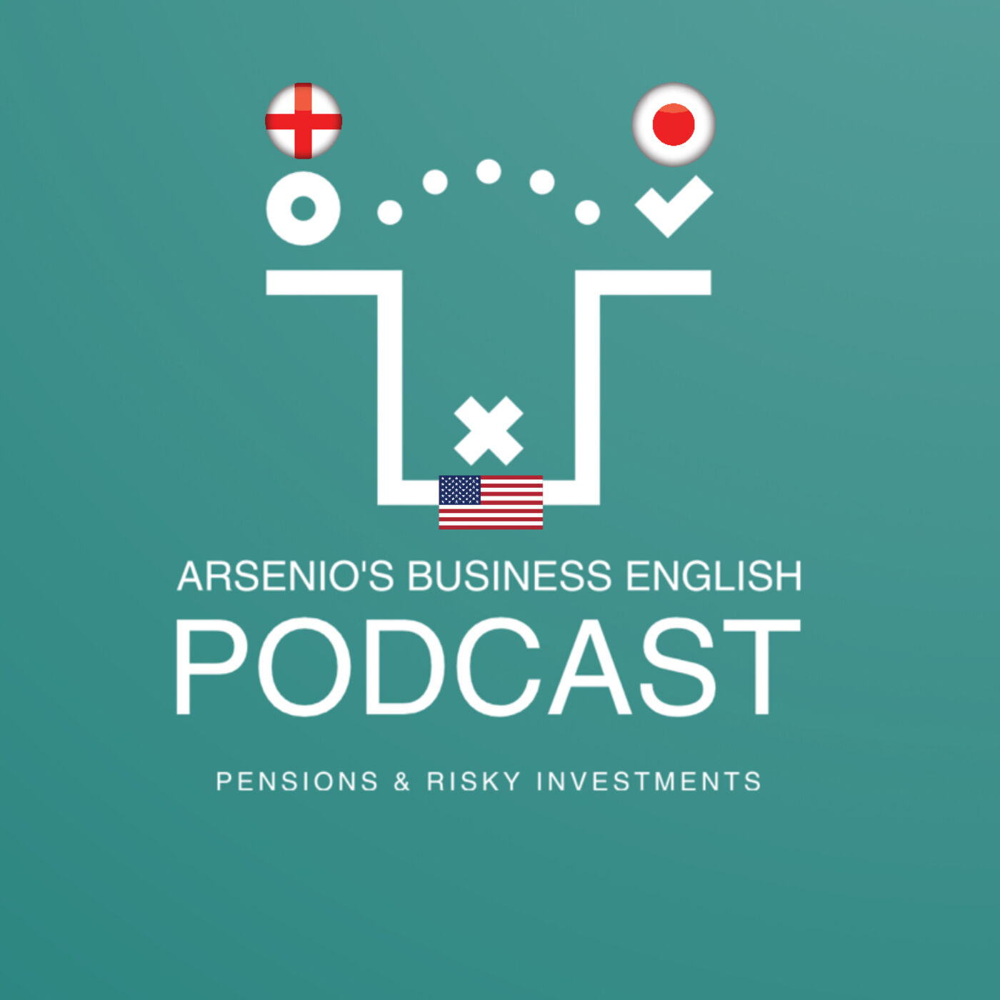 Arsenio's Business English Podcast | Investment | Best Types of Pensions & Risky Investments