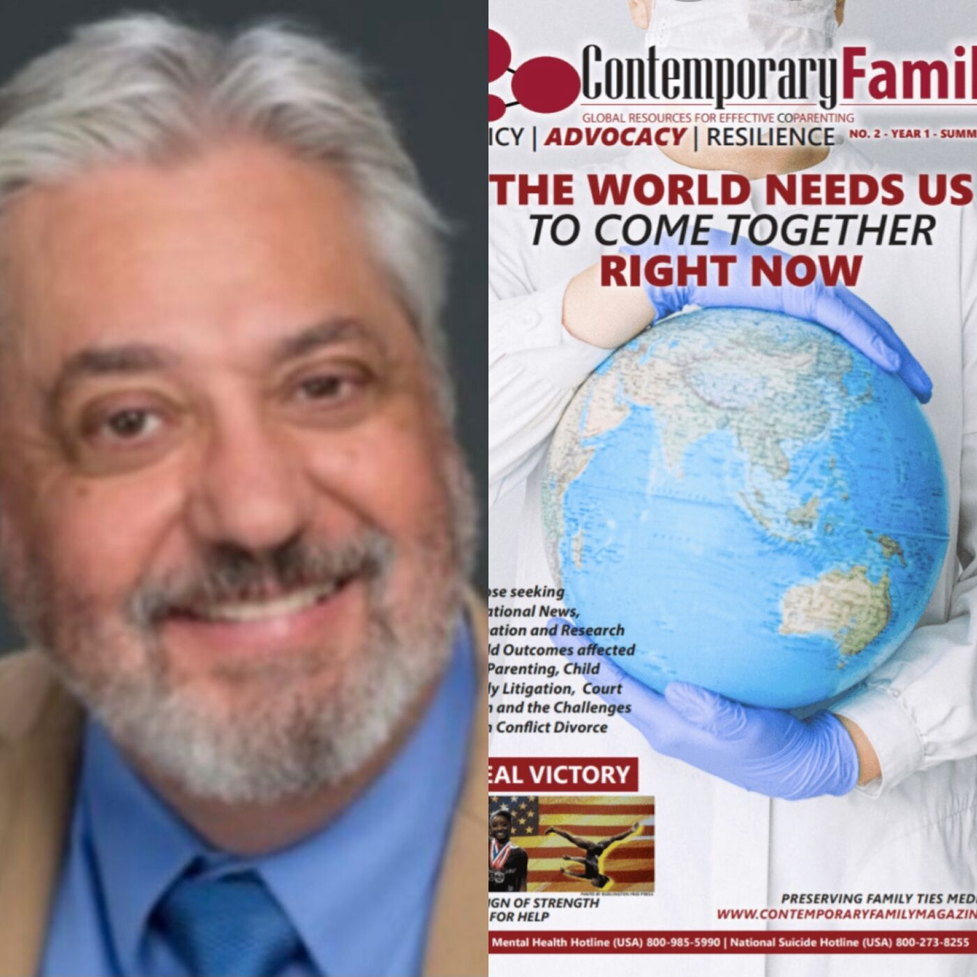 Dr. Mark Roseman, Author, Challenges To Preserving Family Ties And Contemporary Family Magazine