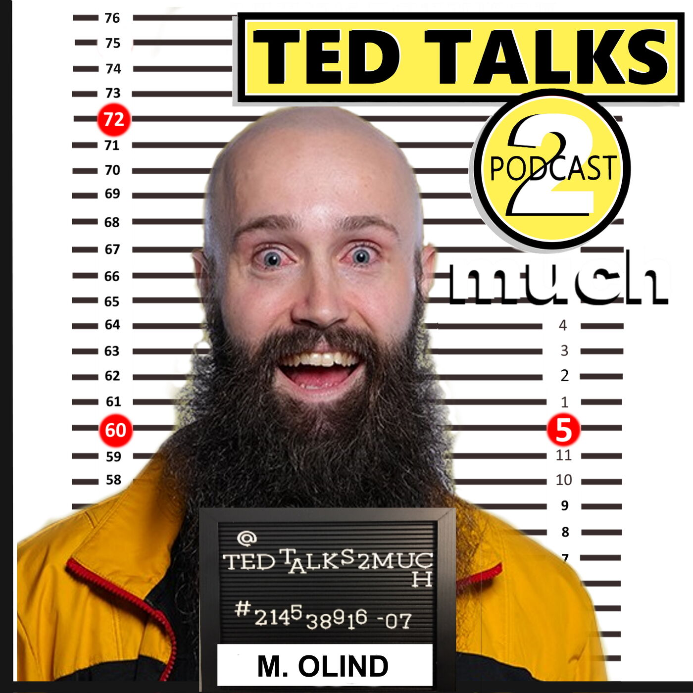 TED TALKS 2 Marcus Olind... about Podcasting, Smart Germans, Killing Cats & Stand Up Comedy