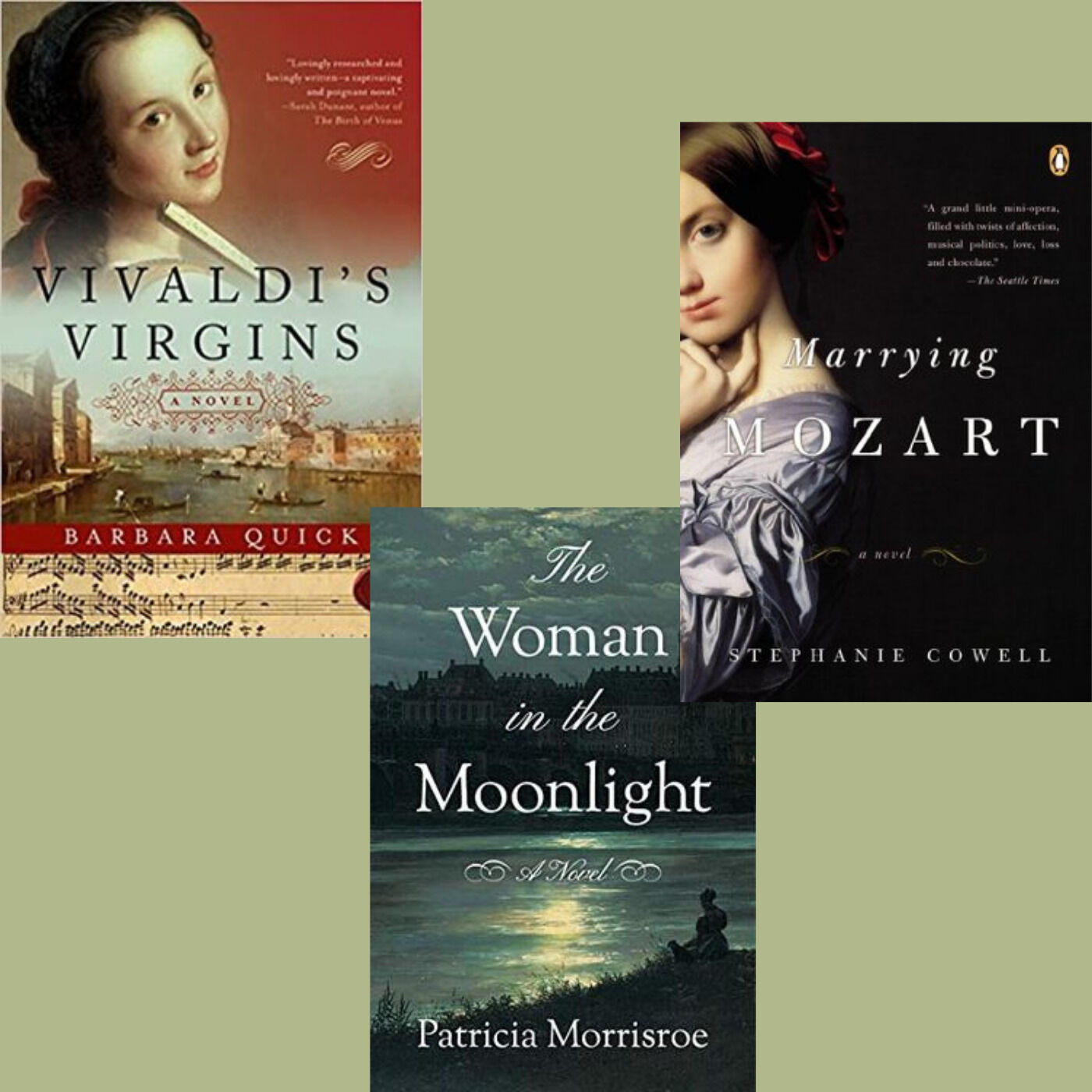 Vivaldi and Mozart and Beethoven, Oh My! Three Novelists Talk About Music in Fiction
