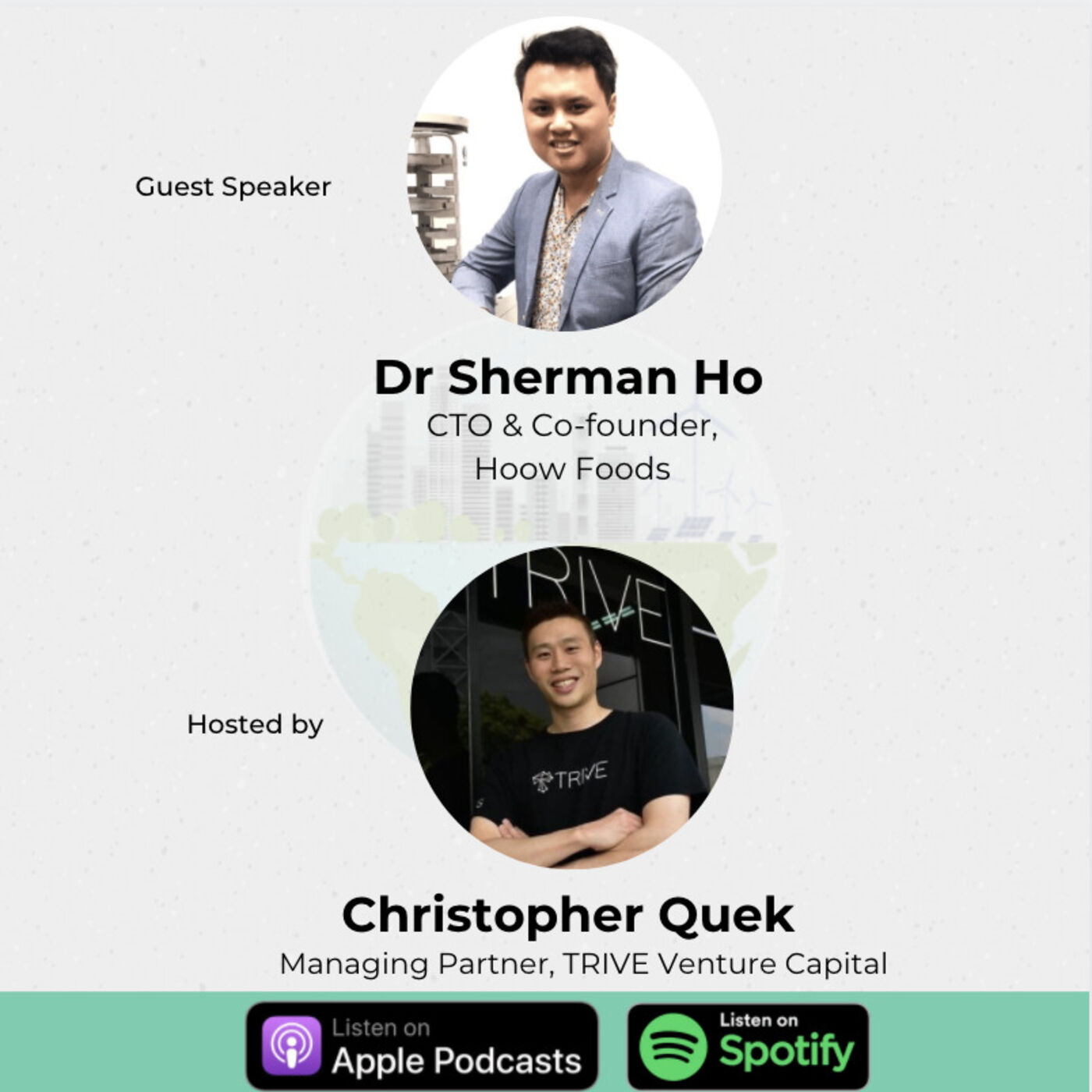 The science of Foodtech in Healthy Foods - Dr Sherman Ho, Hoow Foods