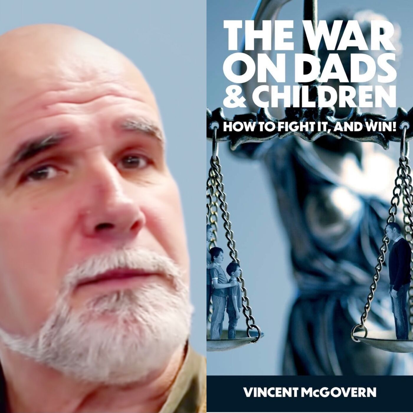 Vincent McGovern, Author, Discusses How Shared Parenting Is Not What You Think And Is Not Happening In The United Kingdom