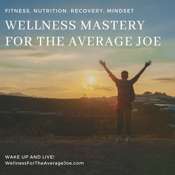 Wellness Mastery for the Average Joe  Podcast Artwork Image