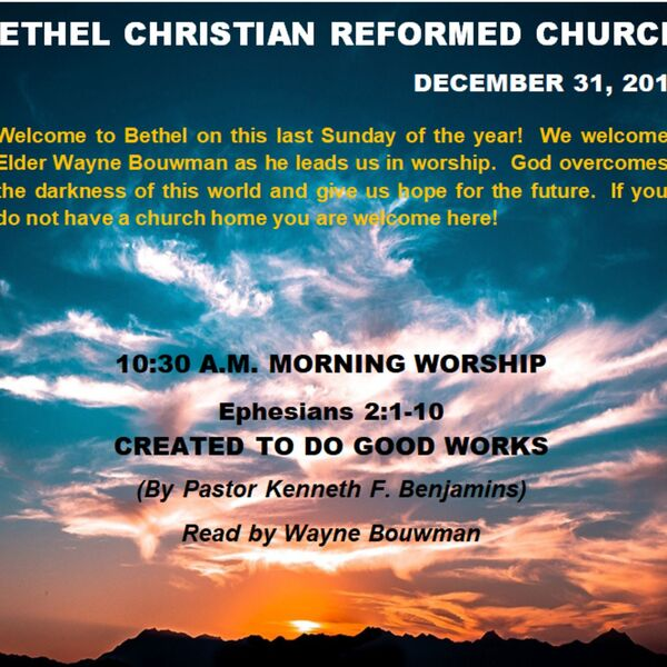 Bethel CRC Lacombe Podcast Artwork Image