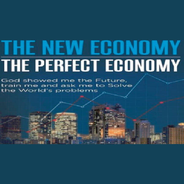 """""""The New Economy - The Perfect Economy"""" Podcast by Oogle Podcast Artwork Image"""