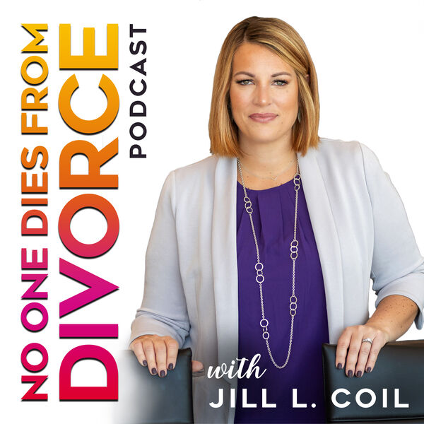 No One Dies from Divorce Podcast Artwork Image