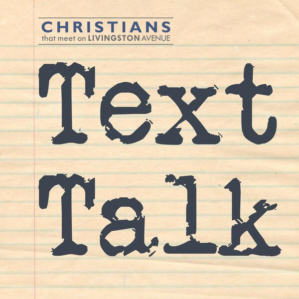 Text Talk Podcast Artwork Image