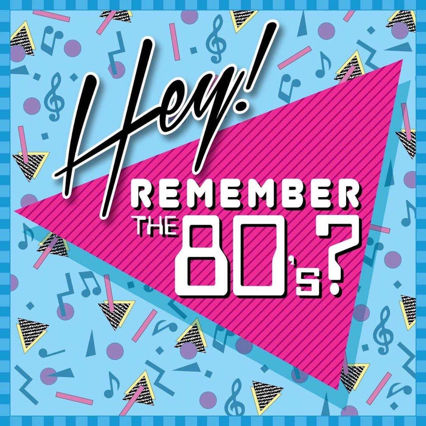 Hey! Remember the 80's? Logo