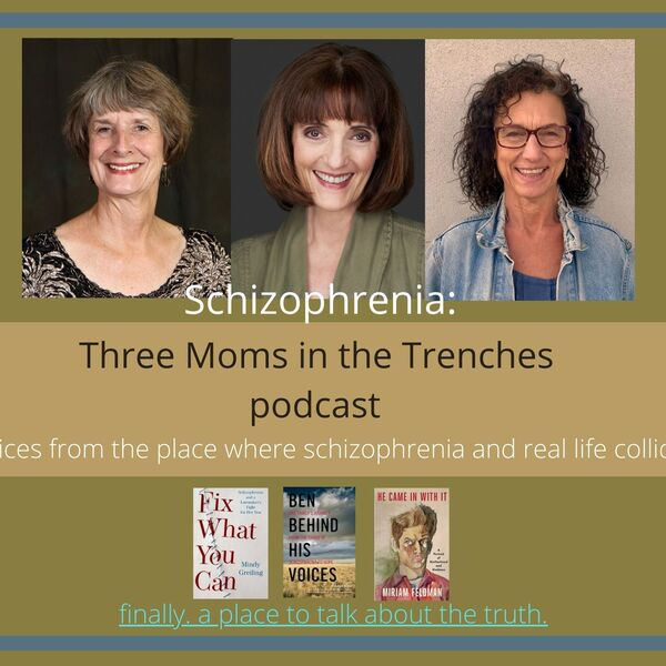 Schizophrenia: Three Moms in the Trenches Podcast Artwork Image