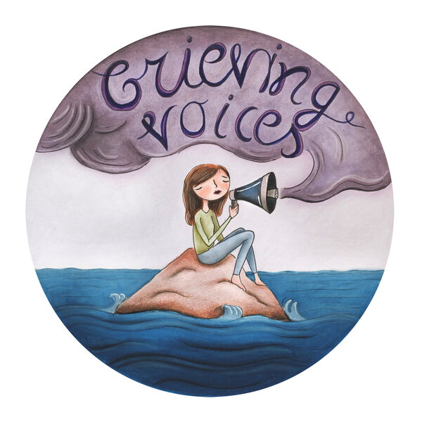 Grieving Voices Podcast Artwork Image