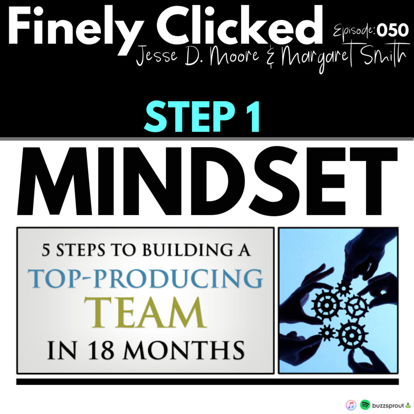 Episode 50: 5 Steps to Building a Top Producing Team in 18 Months (Step 1: Mindset)