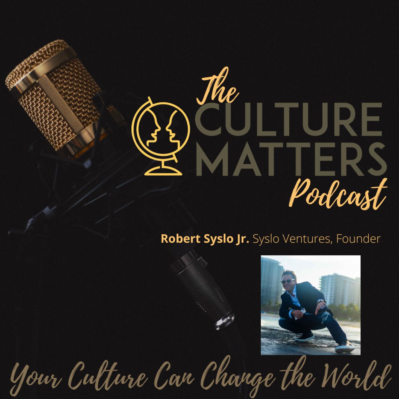 Season 7, Episode 81: Guest: Robert Syslo Jr.: Why We Follow Who We Follow