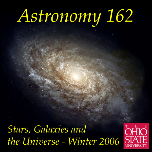 Astronomy 162 - Stars, Galaxies, & the Universe Podcast Artwork Image