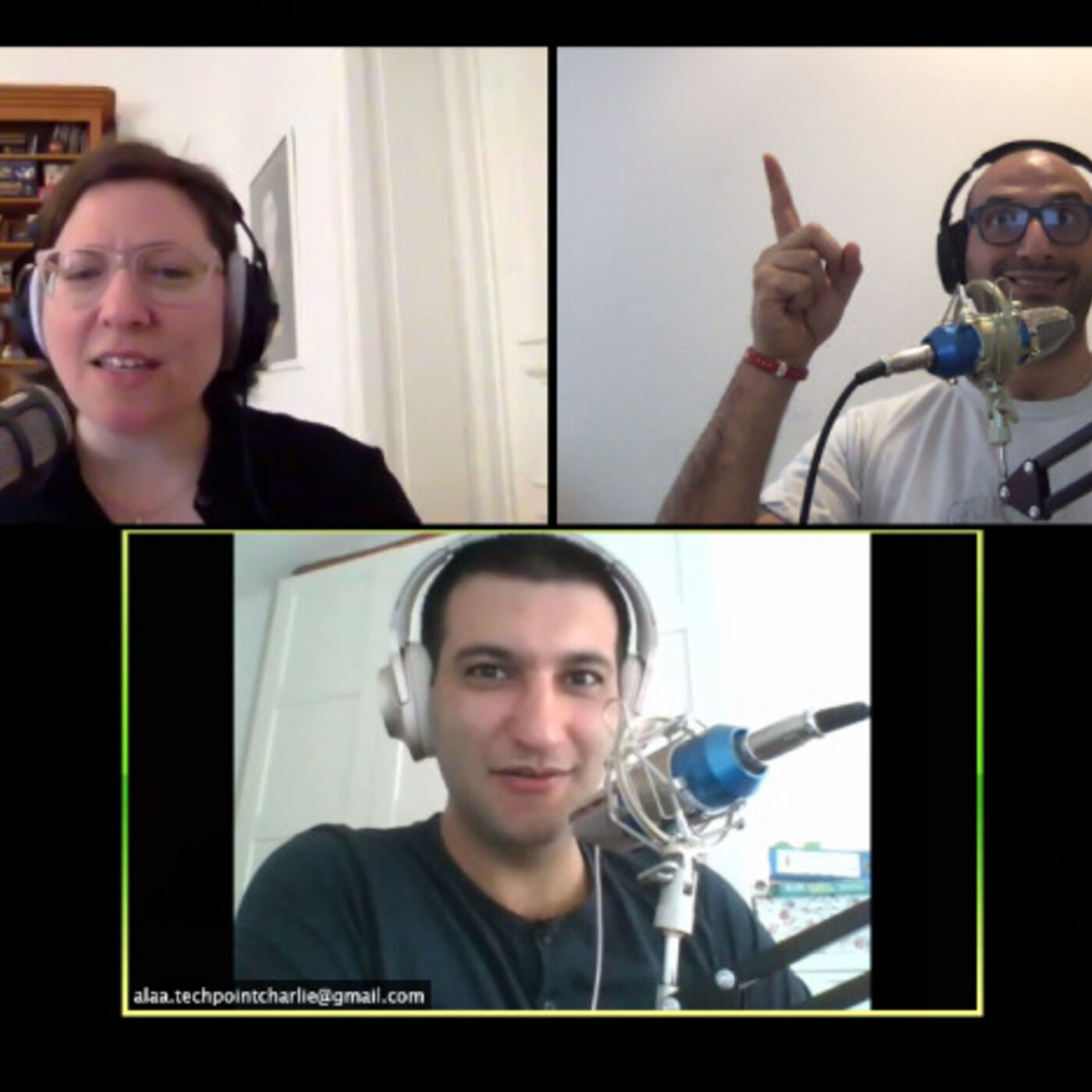 Episode 20: Open Plan Offices: 3 hosts, too many feelings