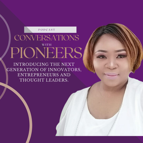 Conversations with Pioneers Podcast Artwork Image