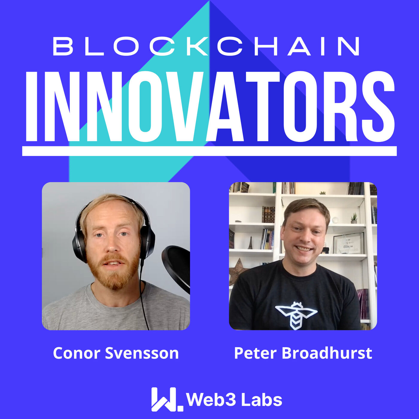 Blockchain Innovators - Conor Svensson and Peter Broadhurst