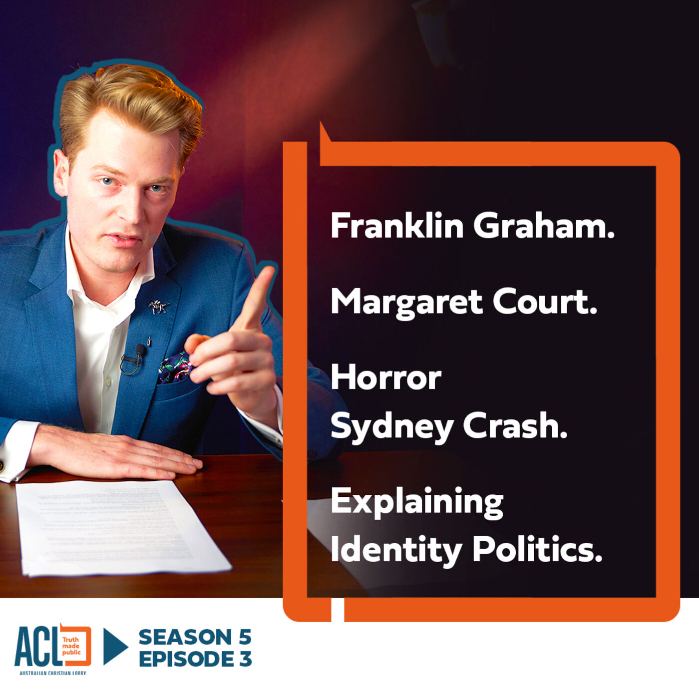 SEASON 5 - EP#503 | Franklin Graham | Margaret Court | Horror Sydney Crash | Your Questions
