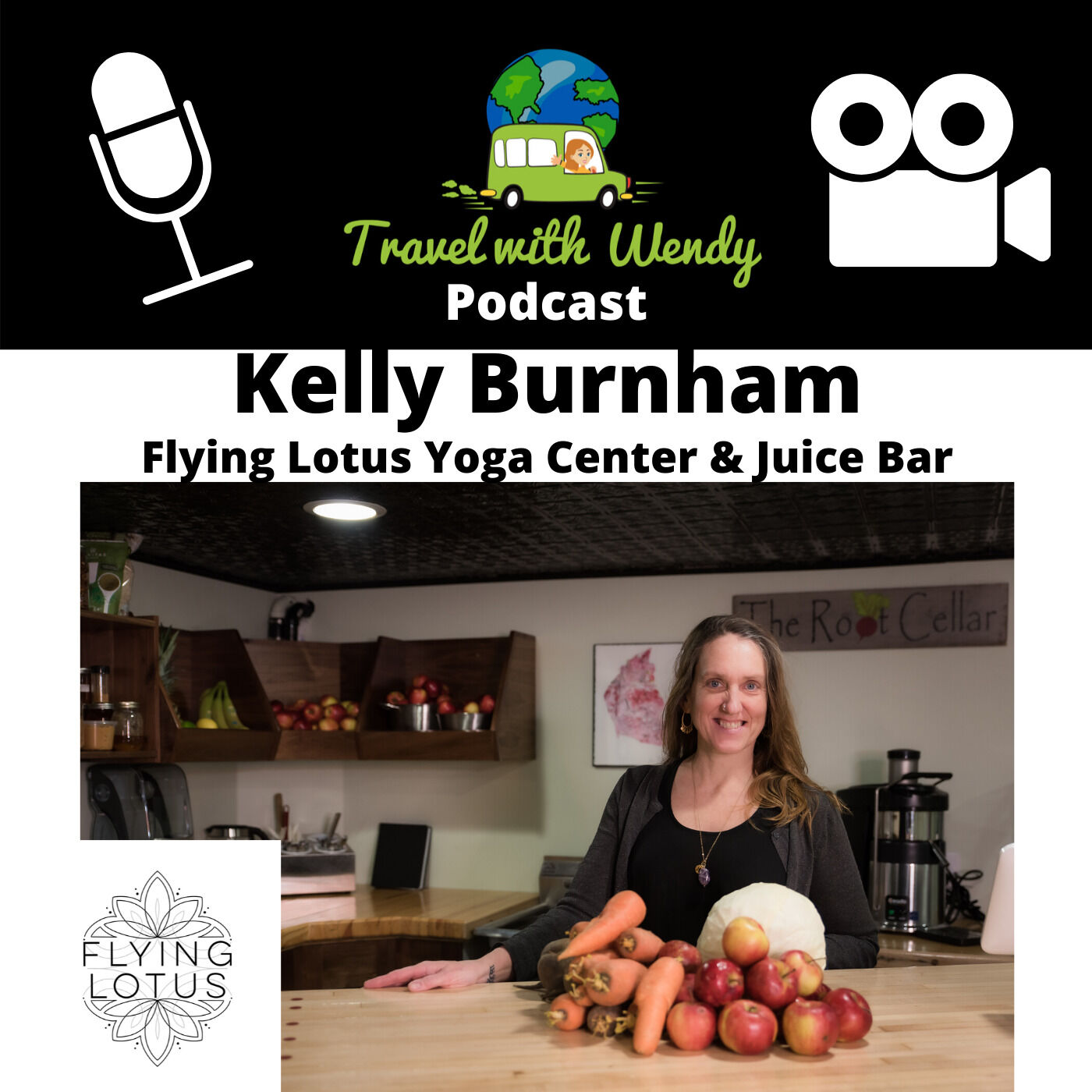 #16 Kelly Burnham - Flying Lotus Yoga & Juice Bar - CANTON, NY