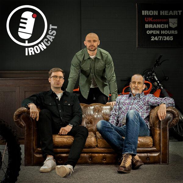 IRON CAST by Iron Heart International Podcast Artwork Image