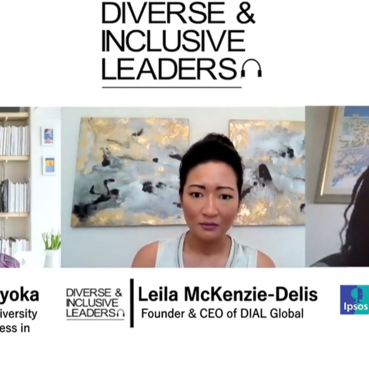 ''What we see across organisations is that people from black, Asian, minority ethnic backgrounds tend to sit at  the bottom of organisations'': Patricia Chinyoka, Senior Inclusion & Diversity Consultant at Business in the Community & Sara Sewell, Global S