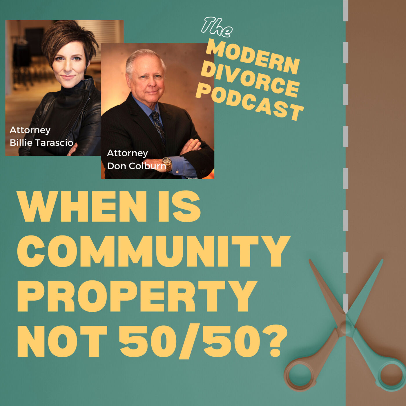 When is community property NOT 50-50?