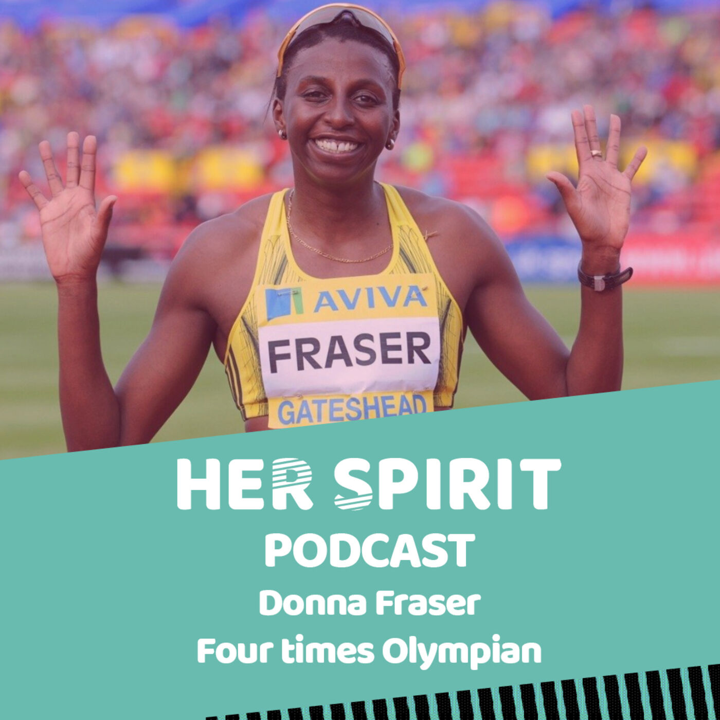Four time Olympian Donna Fraser talks to Louise and Annie about her career in athletics and her fight with breast cancer in 2009. Three years later she qualified for her fourth Olympics in London.