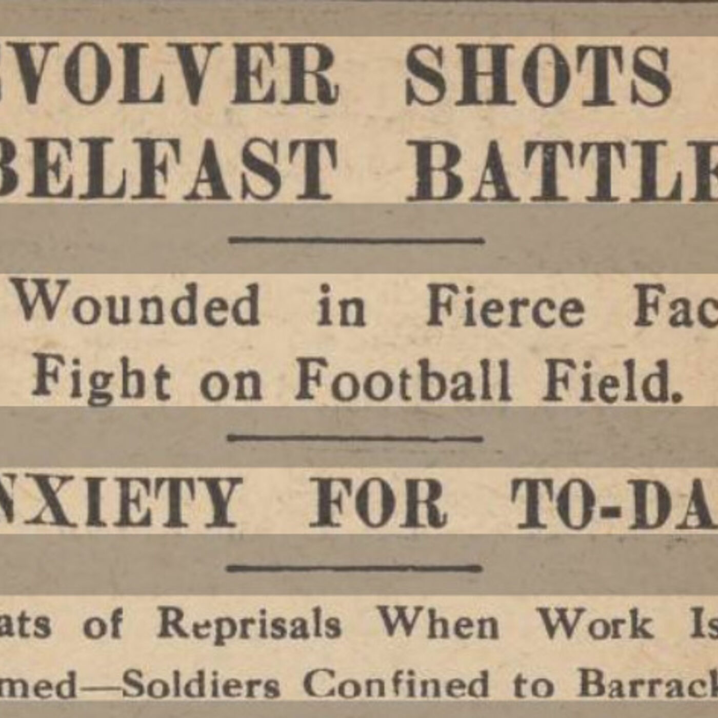 Political Football: Belfast Celtic v Linfield, September 1912