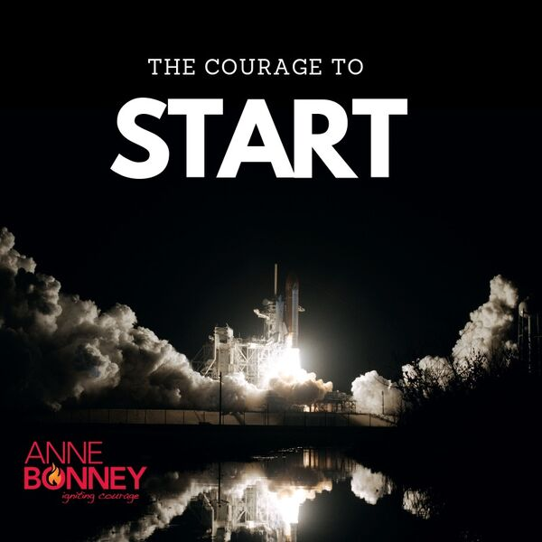 Igniting Courage with Anne Bonney Podcast Artwork Image
