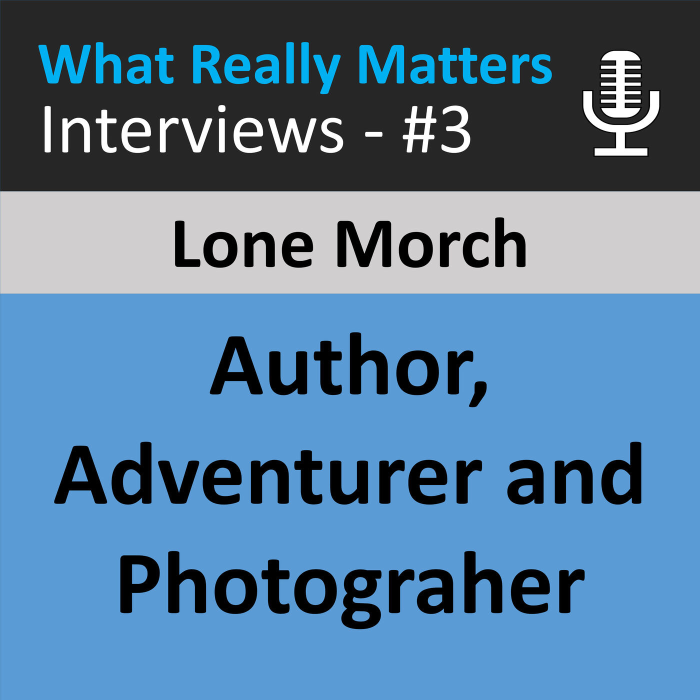 WRMI 003  Interview with Lone Morch - Author, Adventurer and Photographer