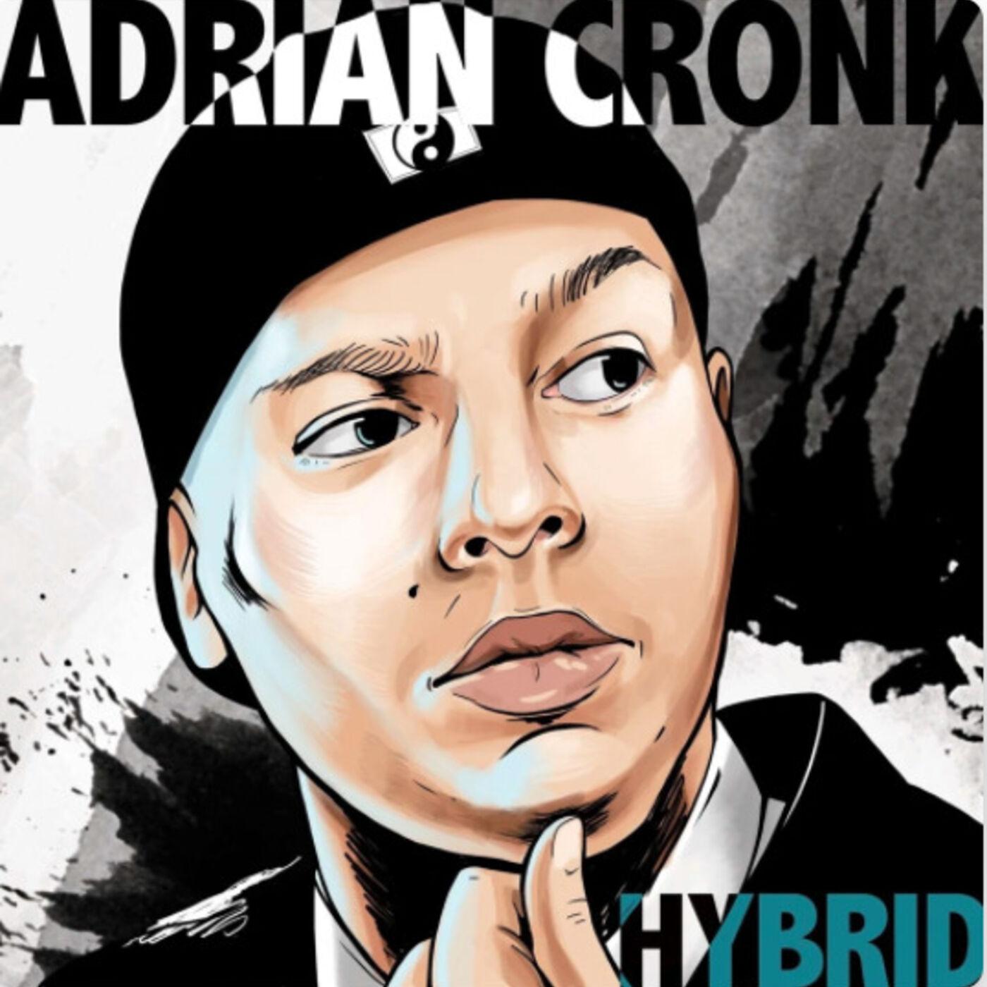 Comedian Adrian Cronk