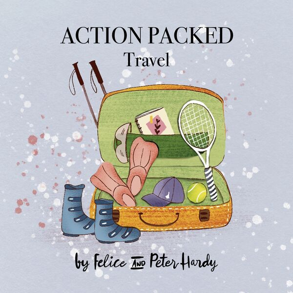 Action Packed Travel Podcast Artwork Image