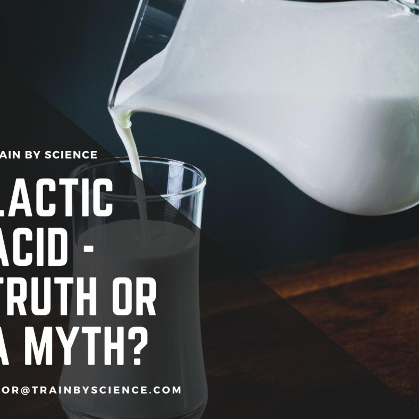 חומצת חלב – אמת צרופה או מיתוס שגוי?
