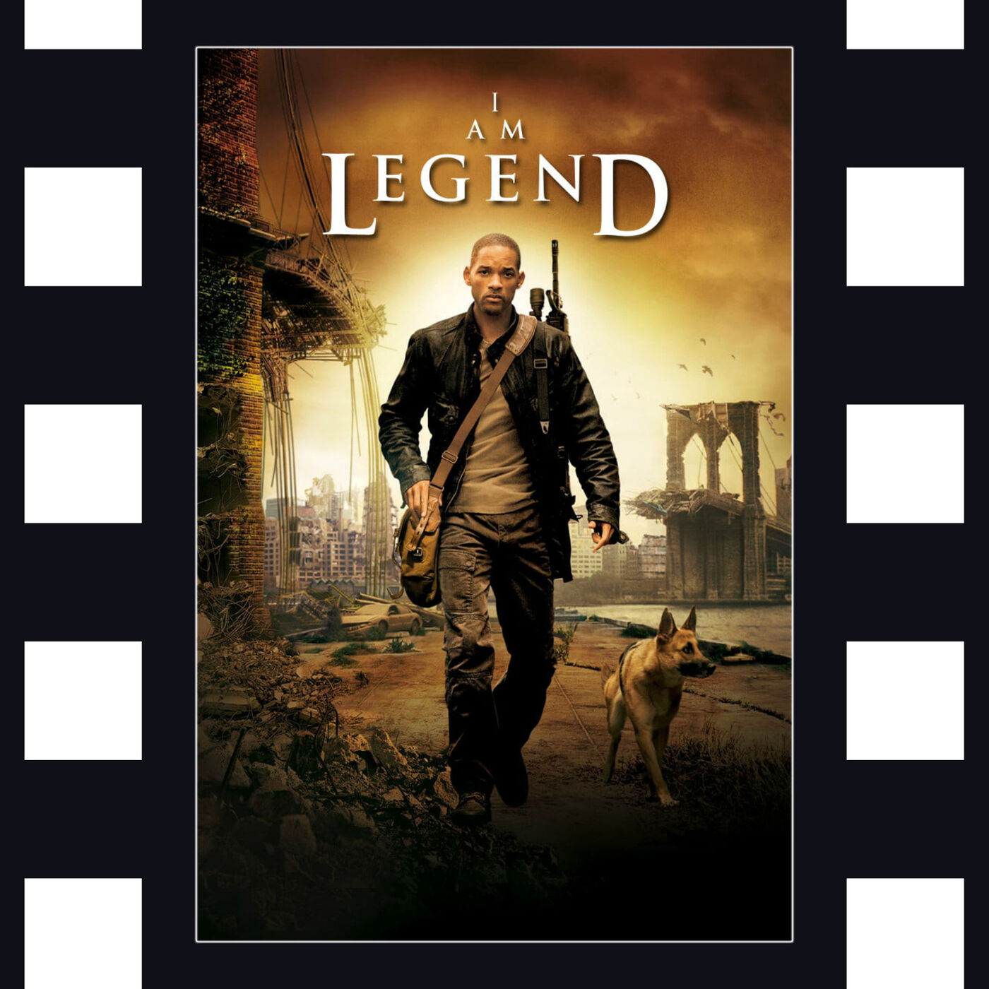 I Am Legend - Will Smith, Zombies, and Community with Film_Junkie_Reviews