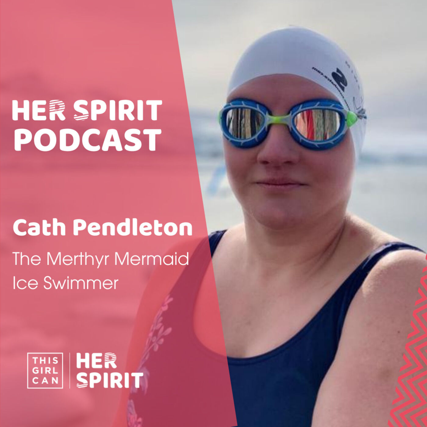 Ice swimmer Cath Pendleton AKA The Merthyr Mermaid talks to Annie and Louise about her love of swimming, life in lockdown and a life with many challenges