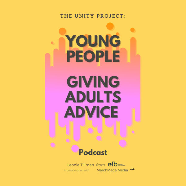 Young People Giving Adults Advice Podcast Artwork Image